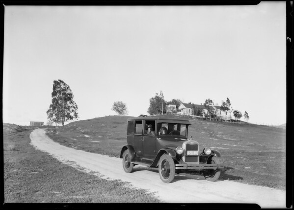 Chevrolet at George Pico's ranch, Southern California, 1926