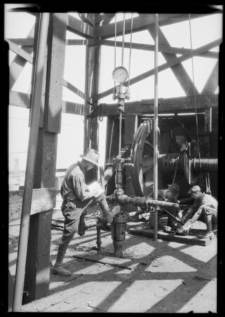 Axelson Dynamometer, Signal Hill, CA, 1926