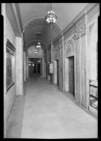 National City Bank building, Southern California, 1925