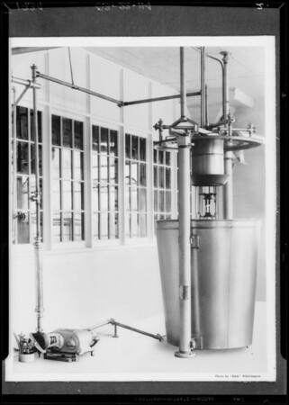 "Vitamin ""D"" machine, Southern California, 1934"