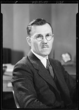 Mr. Hutton, Southern California, 1934