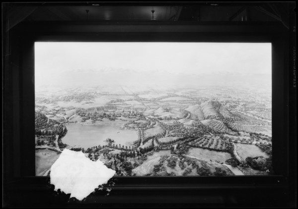 Rendering of Norco, Southern California, 1927