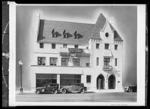 Building after retouching, 607 South Western Avenue, Los Angeles, CA, 1933