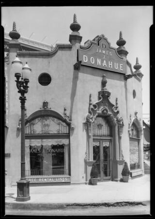 Realtor office, Wilshire Boulevard & South Western Avenue, Los Angeles, CA, 1925