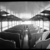 Calexico Union High School bus, Southern California, 1934