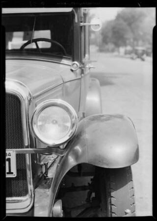Oakland sedan, W.A. Johnson, owner, Southern California, 1934