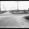 Intersection of East 223rd Street [West Wardlow Road] and Santa Fe Avenue, Long Beach, CA, 1934