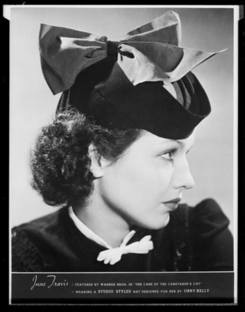 Studio Style Hat Company, Southern California, 1936
