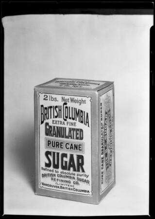 Sugar from British Columbia, Southern California, 1925