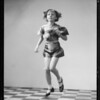 Dixie May in dancing poses, Southern California, 1934