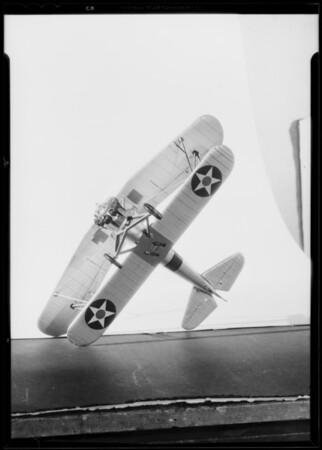 Airplane, Southern California, 1933