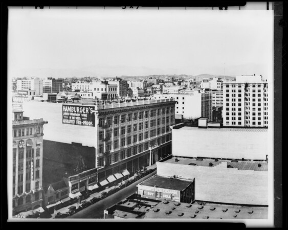 Paden-Pelton Building, 728 South Hill Street, Los Angeles, CA, 1925