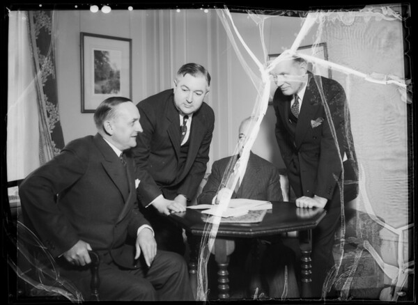 Messrs. Markham, Byles, Walker, & Boyd, Jr., Southern California, 1935