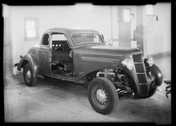 Dodge coupe, Dr. Fogel, owner, Southern California, 1935