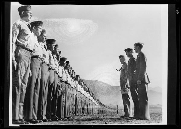 Copies for large book display, Southern California, 1940