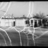 Electric connections in garage and service station at North Atlantic Boulevard and West Alhambra Road, Alhambra, CA, 1936
