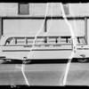 Brawley Union High School bus, Southern California, 1935