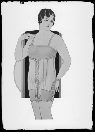 Foundation garments, Southern California, 1936