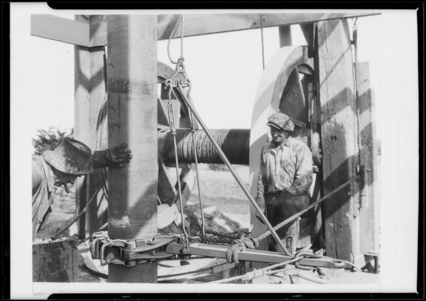 Wilson Willard tools, Southern California, 1927