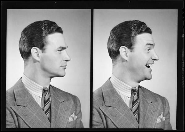 Byron Morrow, Southern California, 1940