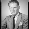 Portrait, William E. Crow, Southern California, 1940