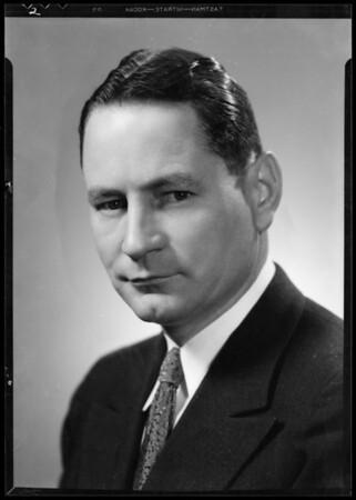 Portrait of Mr. W.W. Phelps, Southern California, 1935