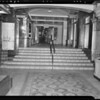 Steps at Ambassador Hotel, 3400 Wilshire Boulevard, Los Angeles, CA, 1940
