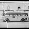 Ventura municipal bus, Southern California, 1935