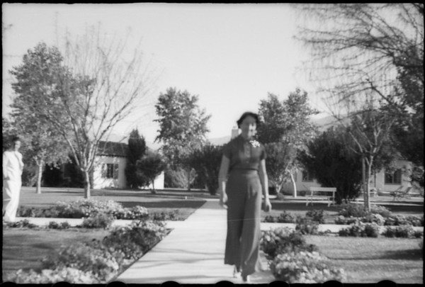Palm Canyon for El Mirador Hotel, Palm Springs, CA, 1937