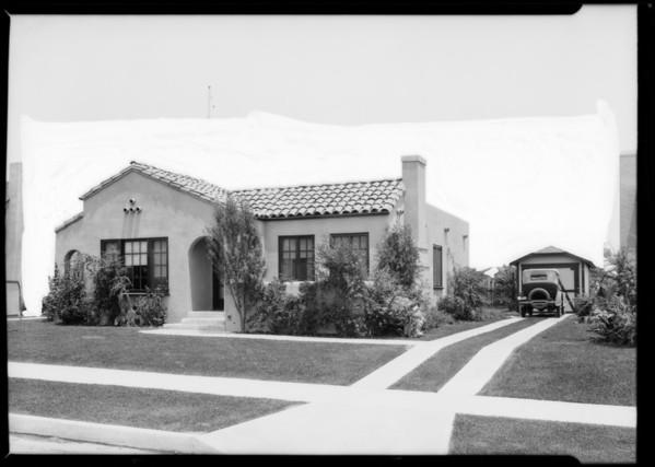 Home--624 North Stanley Avenue, Los Angeles, CA, 1926