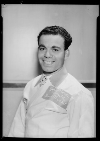 Portraits of department managers at market, 8656 South Broadway, Los Angeles, CA, 1935