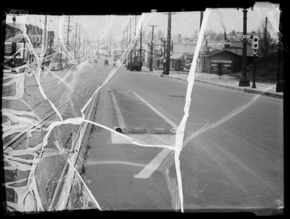 Intersection of West Pico Boulevard and West Boulevard, Los Angeles, CA, 1936