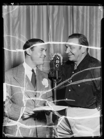 Wallace Beery & Chester Morris, Southern California, 1935