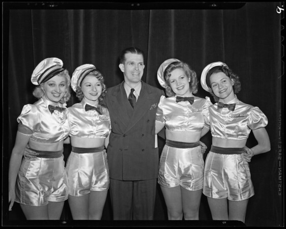 Scenes from advertising show, Union Oil Company, Southern California, 1940