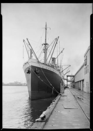 Steamship Ruth Alexander, Stewart Warner Radio, Southern California, 1926