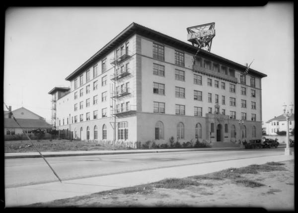 YMCA at San Pedro, 921 South Beacon Street, San Pedro, CA, 1926