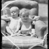 Babies heads, Southern California, 1935