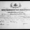 Doctor of medicine diploma, Southern California, 1936