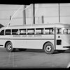 Barstow High School bus, Southern California, 1936