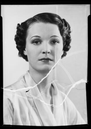 Rita Hale, Southern California, 1936