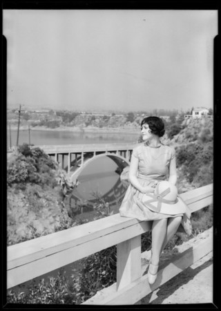 Flintridge, Billie Barnes, model, La Cañada Flintridge, CA, 1927