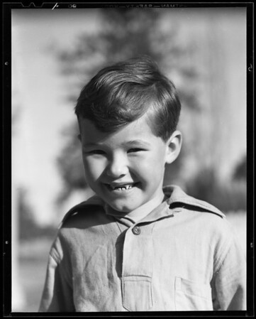 Boy - Tom Hinkel, 10279 Cheviot Drive, Los Angeles, CA, 1940