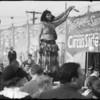 Barnes Circus, Southern California, 1937