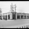 Exterior of building, Los Angeles, CA, 1935