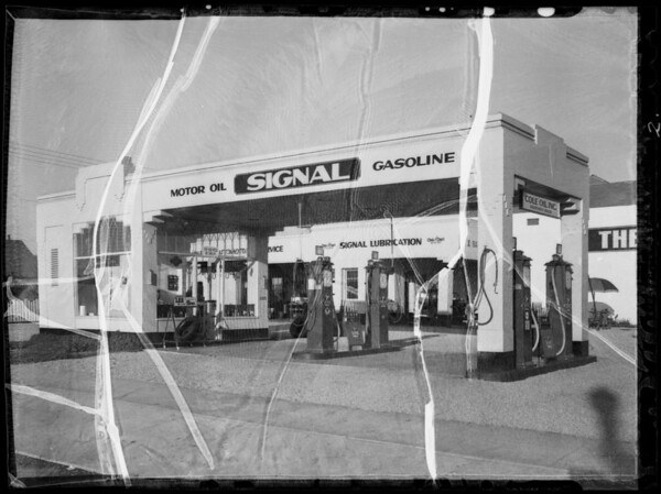 Signal stations, Los Angeles, CA, 1935