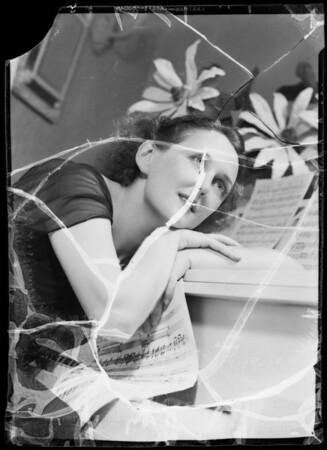 Carmel Myers, Southern California, 1935
