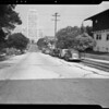 South Saint Andrews Place from West 7th Street to Ingraham Street, Los Angeles, CA, 1940