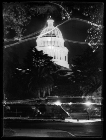 State capitol at Sacramento, CA, 1935