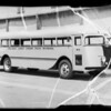 Delano Joint Union High School bus, Southern California, 1935