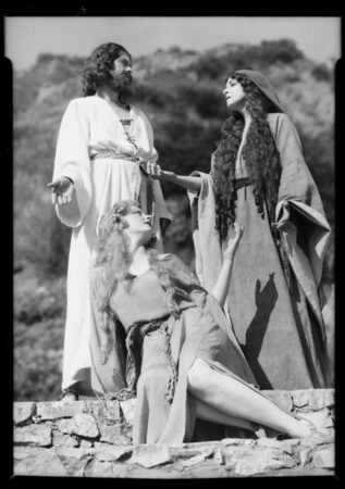 Pilgrimage play, publicity, Southern California, 1935